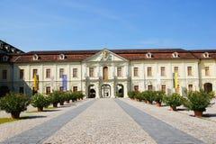 ludwigsburg的住宅宫殿 库存照片