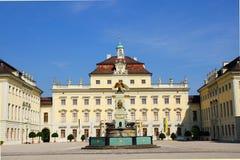 ludwigsburg的住宅宫殿 免版税库存图片