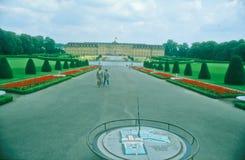 ludwigsburg Германии замока Стоковое Изображение