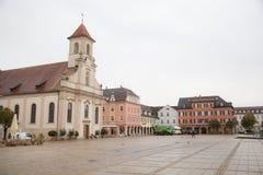 Ludwigsburg del centro Immagine Stock Libera da Diritti