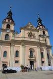 Ludwigsburg-Kirche Stockfotografie