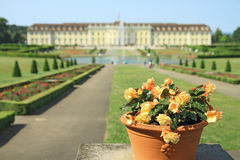 Ludwigsburg Palace. In Ludwigsburg, Baden-Wurttemberg, Germany Stock Photo