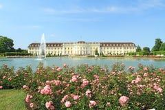 Ludwigsburg Palace. In Ludwigsburg, Baden-Wurttemberg, Germany Stock Image