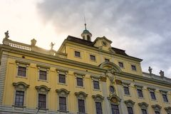 Ludwigsburg Palace Architectural Detail Closeup Germany Famous L. Ocation Stock Photography