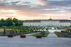 Ludwigsburg palace. In Ludwigsburg city, Germany Royalty Free Stock Photo
