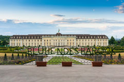 Ludwigsburg palace. In Ludwigsburg city, Germany Stock Photo