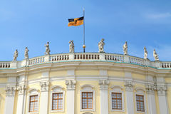 Ludwigsburg Palace facade Royalty Free Stock Images