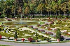 Ludwigsburg Palace garden,Germany Royalty Free Stock Photography