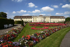 Ludwigsburg Palace - Germany (2). View of the upper grounds of Ludwigsburg Palace from Germany Stock Photography