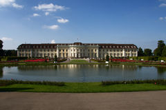 Ludwigsburg Palace - Germany. View of the upper grounds of Ludwigsburg Palace from Germany Royalty Free Stock Photography