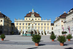 Ludwigsburg Palace,Germany Royalty Free Stock Image