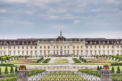 Ludwigsburg Palace in Germany. Ludwigsburg Palace (Schloss Ludwigsburg) in Baden Wurttemberg, Germany Royalty Free Stock Photography