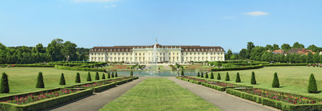 Ludwigsburg Palace panorama Royalty Free Stock Photos