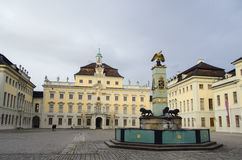 Ludwigsburg Palace Royalty Free Stock Photos