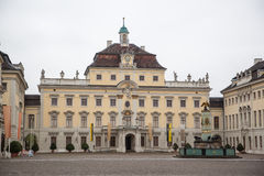 Ludwigsburg Palace. Schloss Ludwigsburg is one of Germany's largest Baroque palaces and features an enormous garden in that style Royalty Free Stock Photos