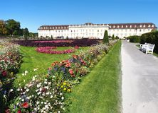 Ludwigsburg Residential Palace in Baden-Württemberg, Germany Royalty Free Stock Photo