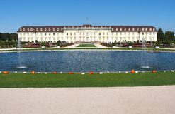 Ludwigsburg Residential Palace in Baden-Württemberg, Germany Stock Photos