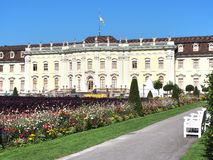 Ludwigsburg Residential Palace in Baden-Württemberg, Germany Royalty Free Stock Photography
