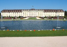 Ludwigsburg Residential Palace in Baden-Württemberg, Germany Stock Image
