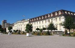 Ludwigsburg Residential Palace in Baden-Württemberg, Germany Royalty Free Stock Photos