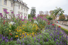 Ludwigsburg slottträdgård, Tyskland Arkivbilder