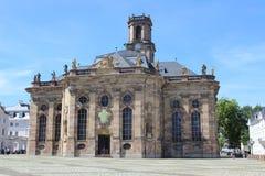 Ludwigskirche in Saarbrucken Stock Images
