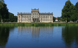 Ludwigslust Castle (Germany) Stock Image