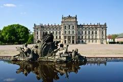 Ludwigslust del castello Immagini Stock