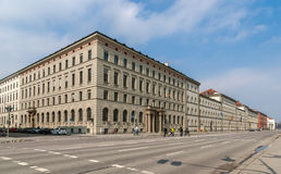 Ludwigstrasse in Munich, Bavaria, Germany Stock Photo