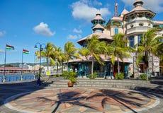 ludwika Mauritius port Zdjęcie Stock