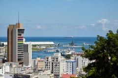 ludwika Mauritius port fotografia stock