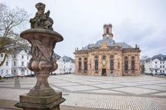 Ludwisgkirche在萨尔布吕肯 库存图片