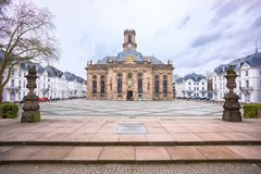 Ludwisgkirche w Saarbrucken obrazy royalty free