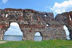 Ludza-Schloss Stockfoto