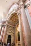 Ludzi i turystów przespacerowanie przy Watykan obrazy royalty free