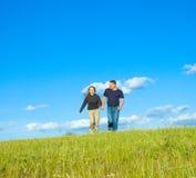 ludzie łąkowi prowadzi 2 Fotografia Royalty Free