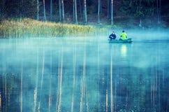 Ludzie łowić Zdjęcie Royalty Free