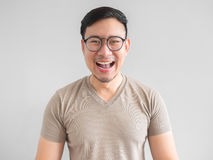 ludzie śmieją azjatykci Zdjęcia Stock