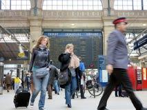 Gare Du Nord Paryż Fotografia Royalty Free