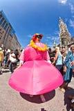 Ludzie świętują Christopher Zdjęcia Royalty Free