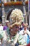 Ludzie świętuje Christopher ulicy dzień Obraz Royalty Free