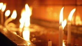 Ludzie świeczek kościelnych zbiory