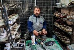 Ludzie Aleppo obraz royalty free
