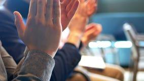 Ludzie aplauz ręki zbiory wideo