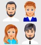 Ludzie avatar kolekci Zdjęcie Stock