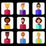 Ludzie avatars Obraz Royalty Free