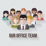 Ludzie avatars grupowej ikony Obrazy Royalty Free