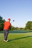 ludzie będą się golf club Obrazy Royalty Free