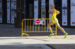 Ludzie biegać Obrazy Stock