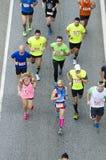 Ludzie biegać Zdjęcie Royalty Free